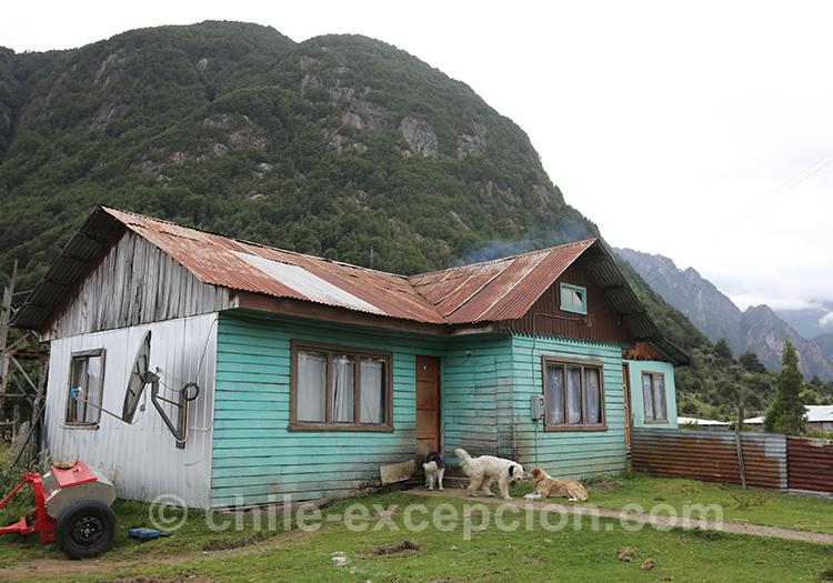 Maison de la Patagonie australe au Chili, Coyhaique