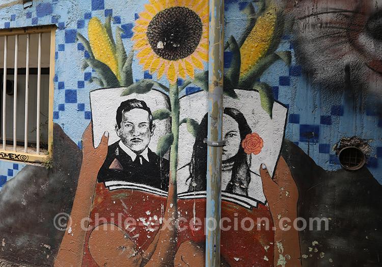 Découvrir les rues de Valparaiso et son street art