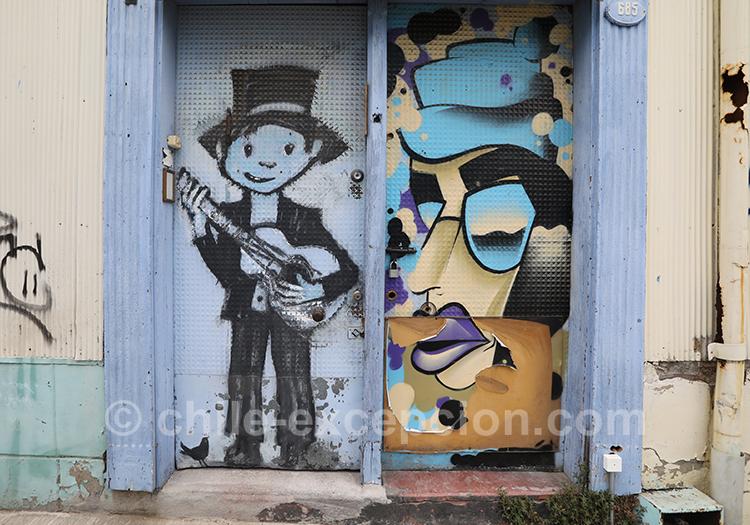 Valparaiso une ville pleine d'arts de rue