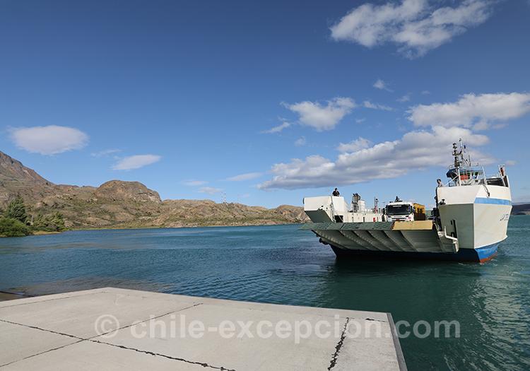 Où prendre le ferry pour aller à Chile Chico au Chili