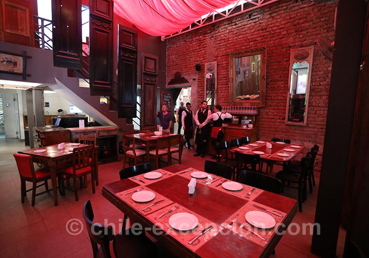 Où manger au quartier Yungay à Santiago
