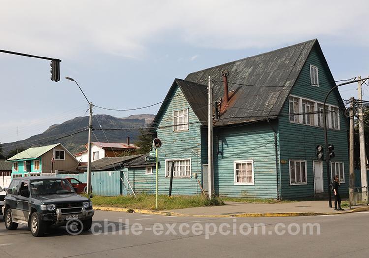 Maison en bois de Coyhaique, Chili avec l'agence de voyage Chile Excepción