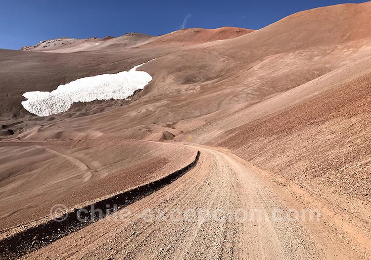 Passage de frontière entre le Chili et l'Argentine, Paso Agua Negra