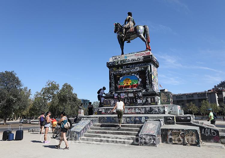 Découvrir la place des contestations au Chili