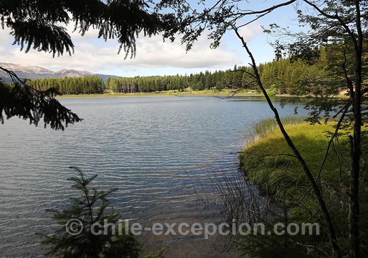 Lac du parc national Coyhaique, Chili