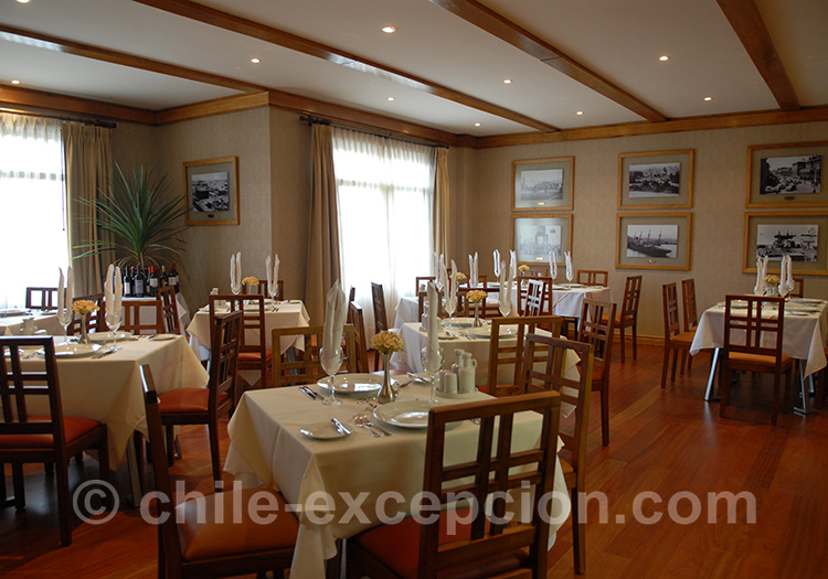 Restaurant de l'hôtel Rey Don Felipe, Punta Arenas