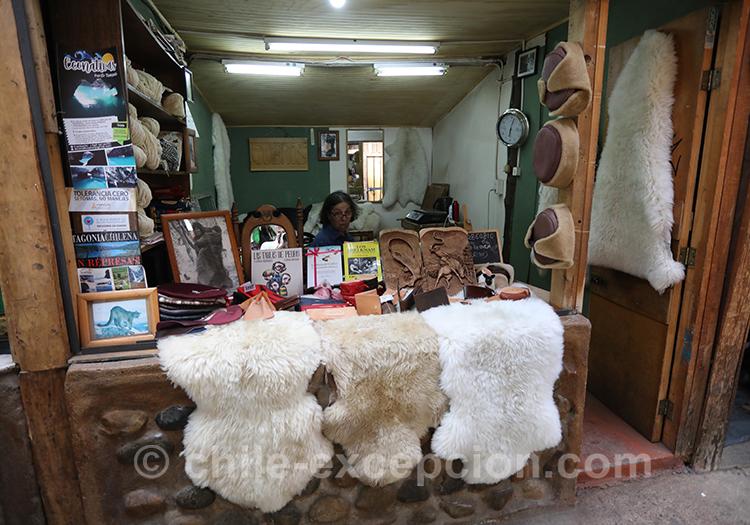 Tapis en peau de chèvre, Coyhaique