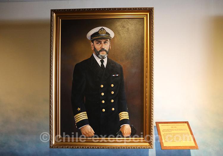 Contre Amiral Federico Guesalaga avec l'agence de voyabe Chile Excepción