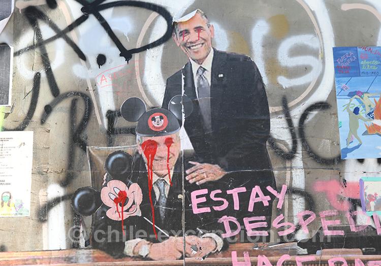 Politiques critiqués au Chili