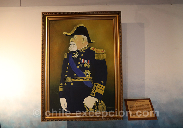 Vice Amiral Francisco Nef Jara
