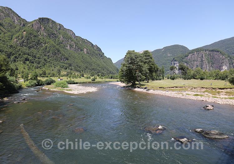 Fjord du Chili dans la région de Coyhaique