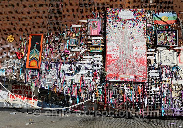 Couleurs et manifestations au Chili