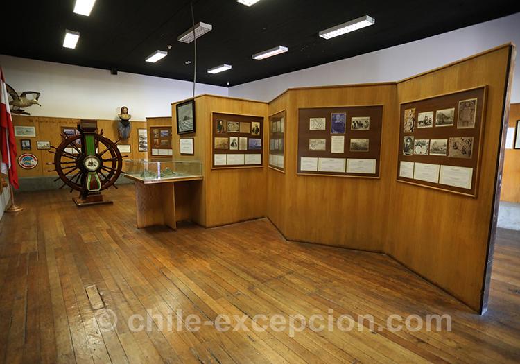 Magnifique musée maritime de Valparaiso