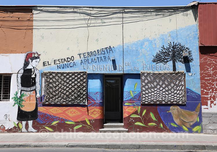 Magnifique dessins à Yungay, Chili