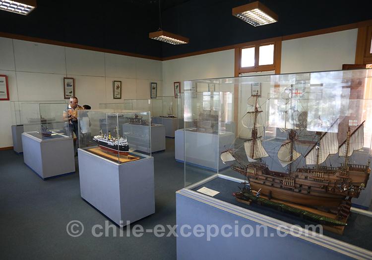 Comment aller au musée maritime Valparaiso