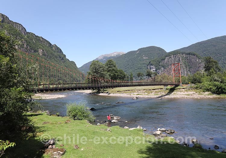 Où voir le rio Simpson en Patagonie australe