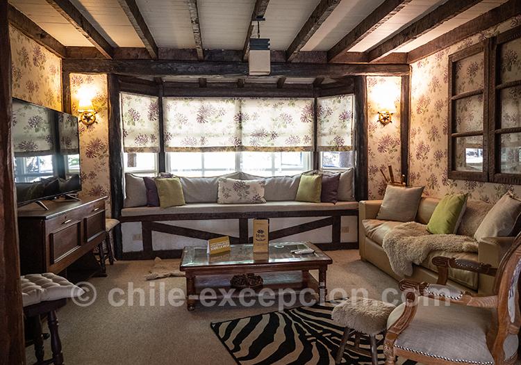 Très bel hôtel de la région de Coyhaique au Chili : The Patagonian Lodge