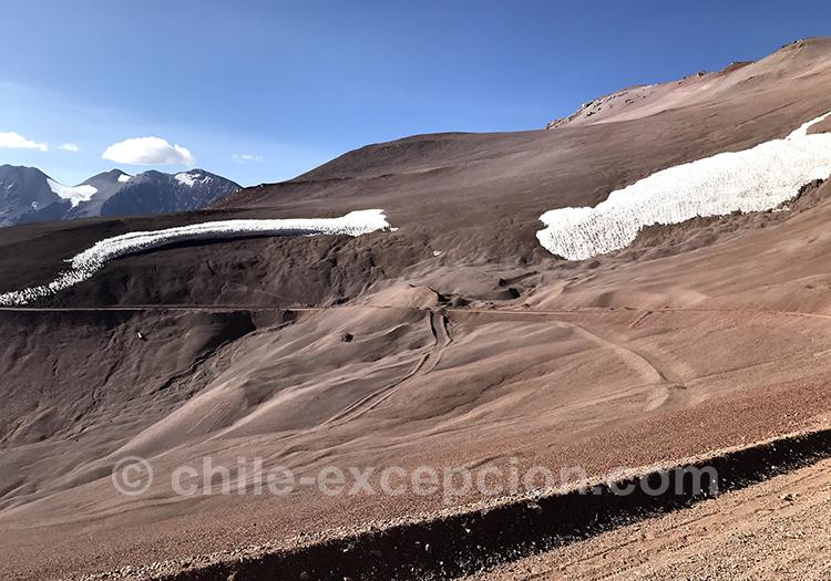 Paso Agua Negra, frontière entre le Chili et l'Argentine