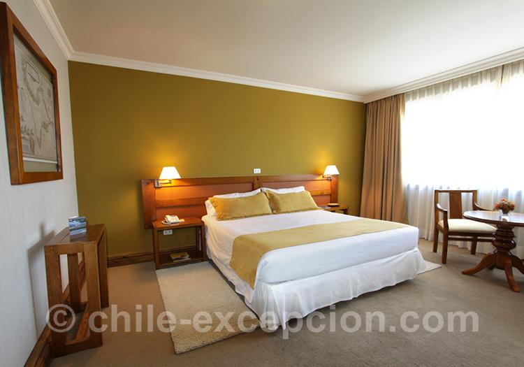 Chambre matrimoniale de l'hôtel Rey Don Felipe, Chili