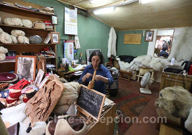 L'artisanat du Chili à Coyhaique