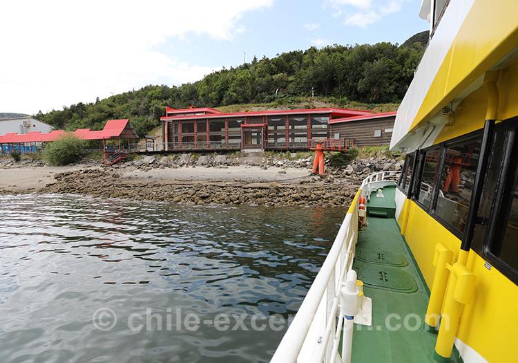 Catamaran excursion thermes Ensenada Perez