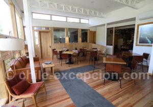 Hôtel Patagonia House, salle à manger