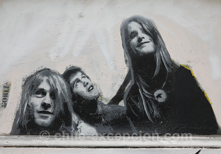 Peintures en noir blanc, Valparaiso