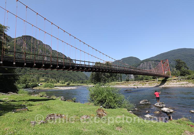 Comment aller au Rio Simpson dans la région de Coyhaique au Chili