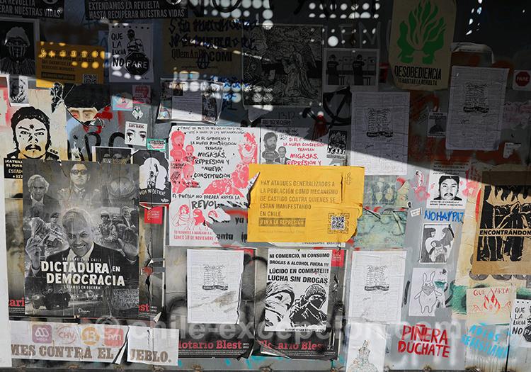 Revendiquer une idéologie au Chili