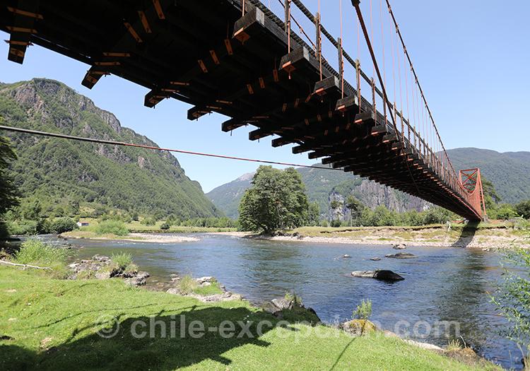 Pont de la région de Coyhaique, Chili