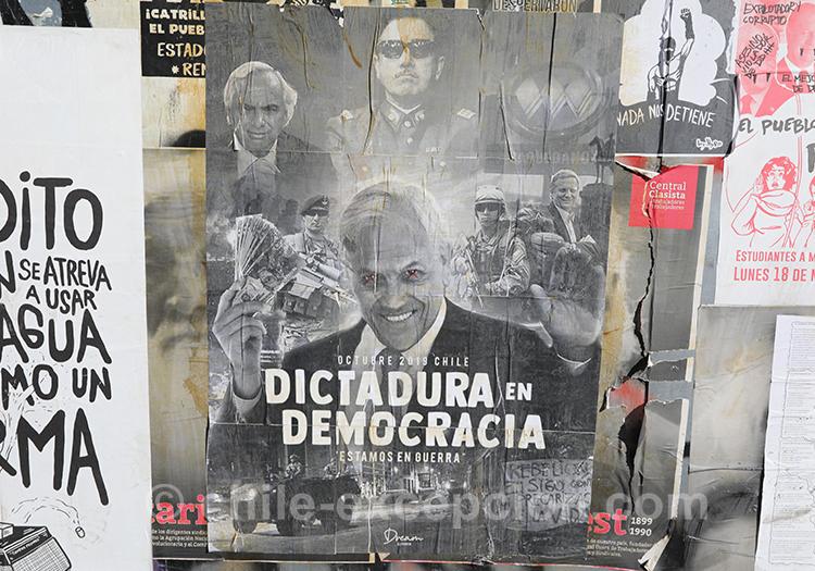 Revendiquer une idée politique au Chili