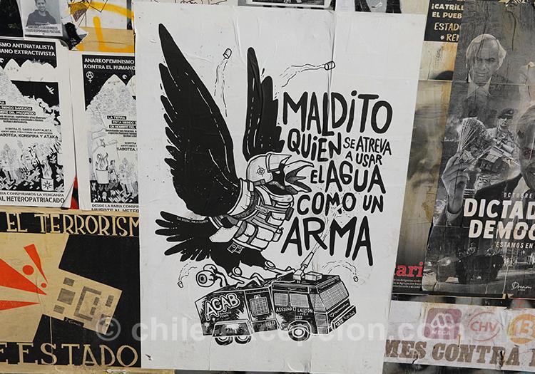 Peuple en colère au Chili