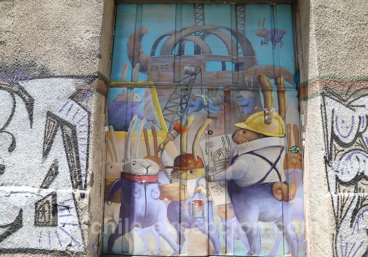 Art de rue au Chili