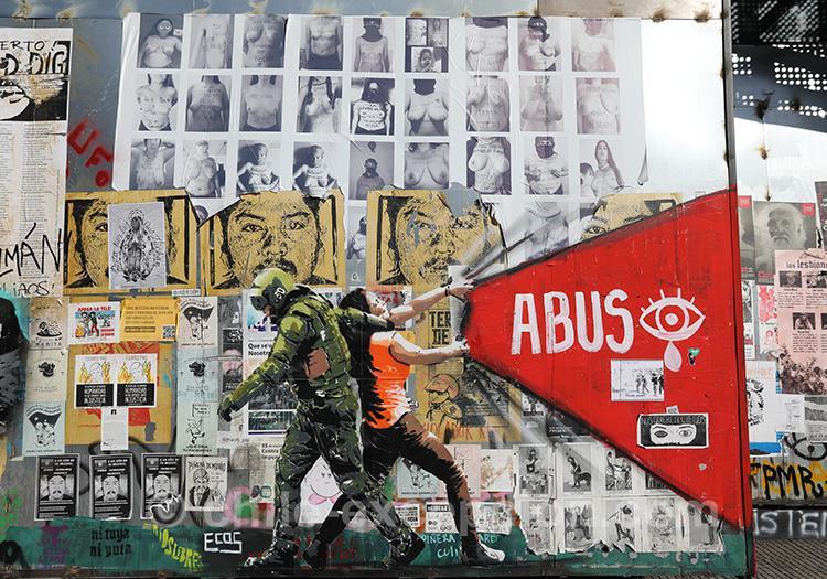 Abus de pouvoir au Chili