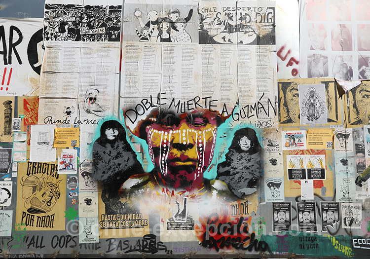 Tags et politique au Chili