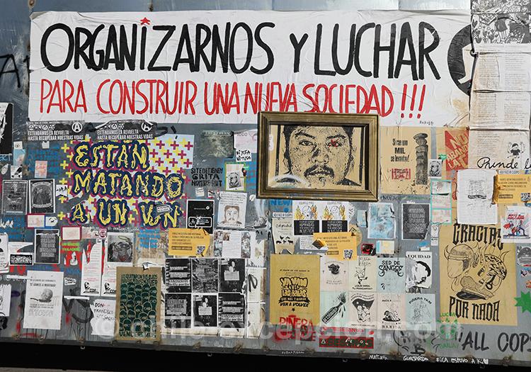 Peintures de rue et politique au Chili