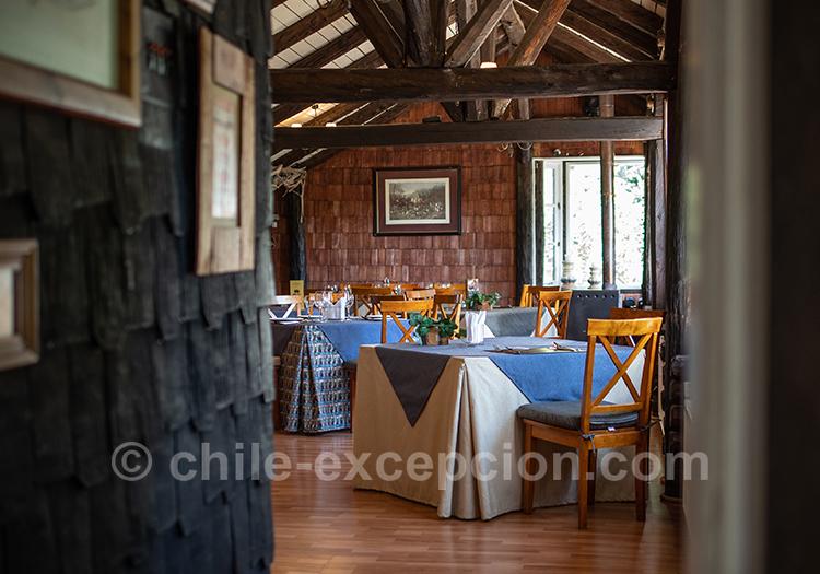 Restaurant de l'hôtel The Patagonian Lodge, Coyhaique, Chili