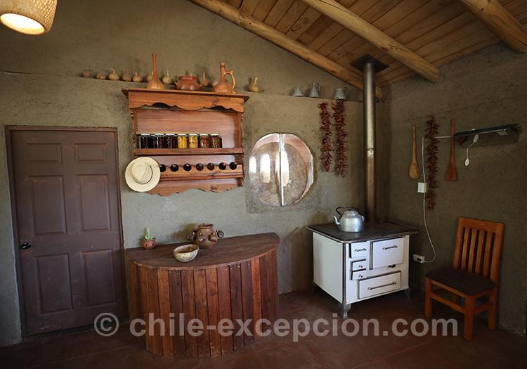 Jolie petite maison d'hôte Caliboro, vallée del Maule, Chili avec l'agence de voyage Chile Excepción