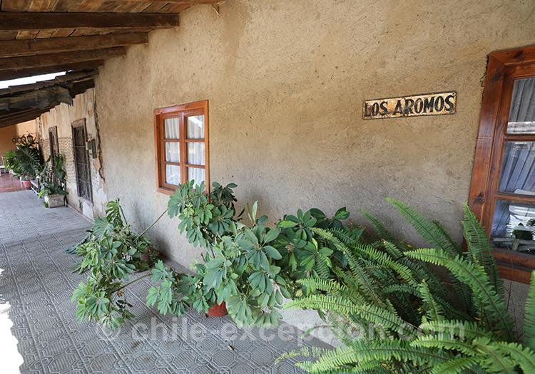 Petite maison typique du village de Lolol au Chili