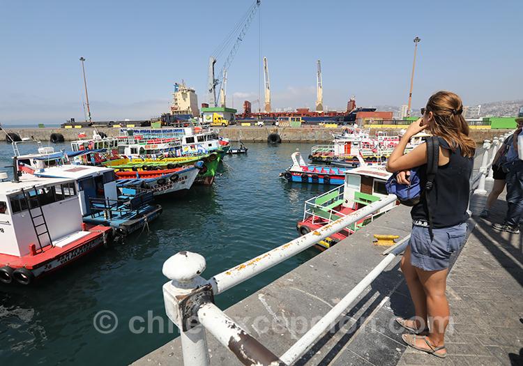 Visiter le port de Valparaiso, Chili