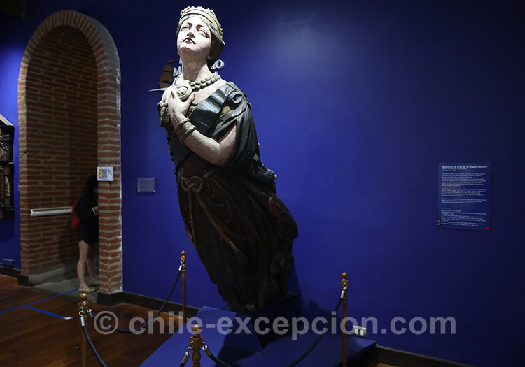 Statue du musée maritime national, Valparaiso