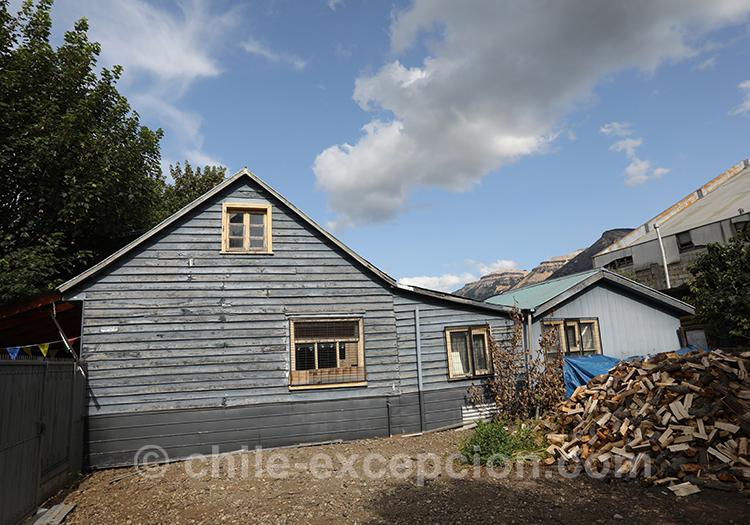 Maison type chalet dans la Patagonie australe du Chili, Coyhaique avec l'agence de voyage Chile Excepción