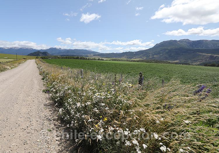 Magnifique région de Coyhaique au Chili