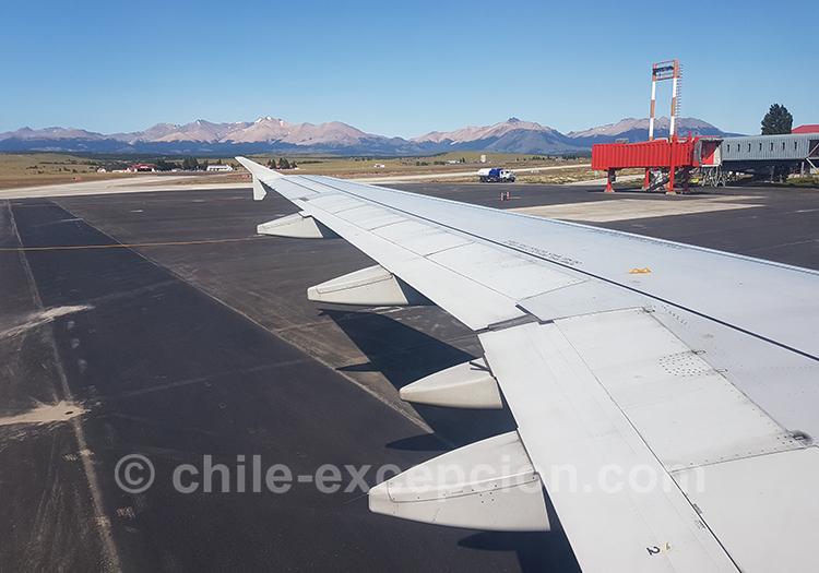 Coyhaique et son aéroport, Chili