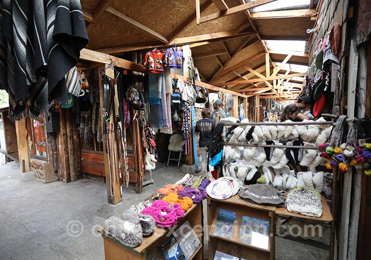 Magasin de Coyhaique qui ne vend que des produits artisanaux