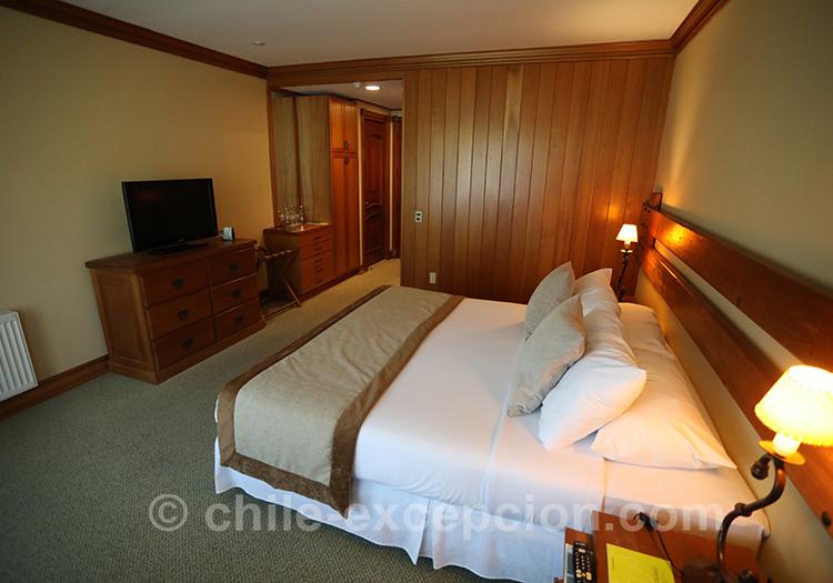 Chambre de l'hôtel Loberias del Sur, Patagonie australe, Chili avec l'agence de voyage Chile Excepción