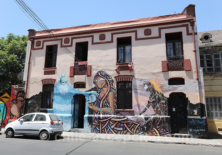 L'originalité des maisons au chili