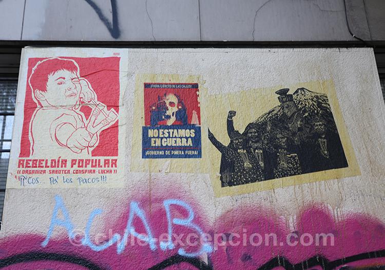 Chili en contestation