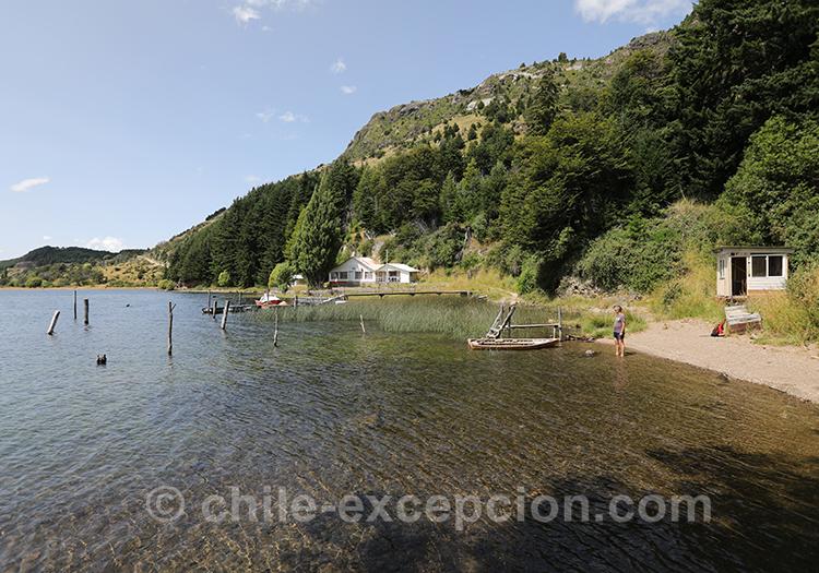 Magnifique lac de Patagonie, lac Elizalde, Coyhaique, Chili avec l'agence de voyage Chile Excepción