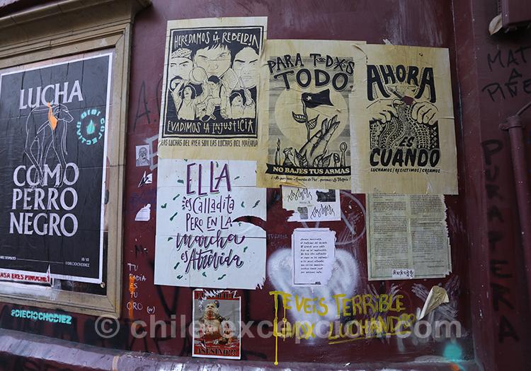 Manifestations et rébellions au Chili